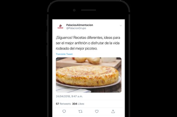 Crea Tweets personalizados para captar seguidores