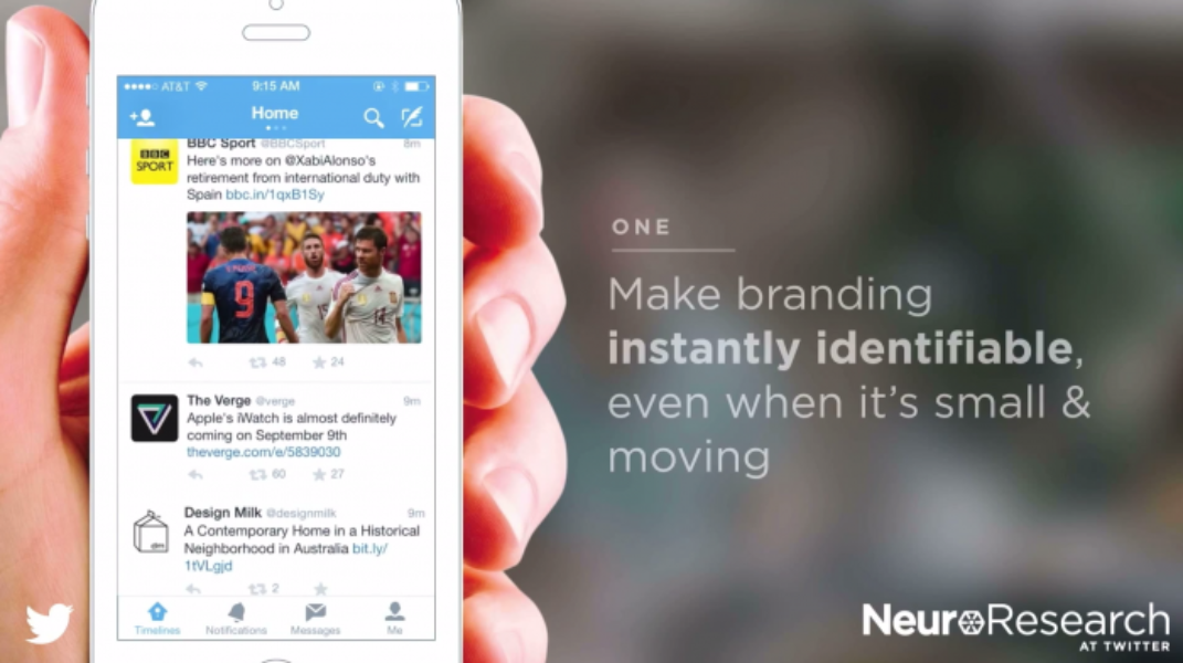 1. Make branding instantly identifiable on Twitter