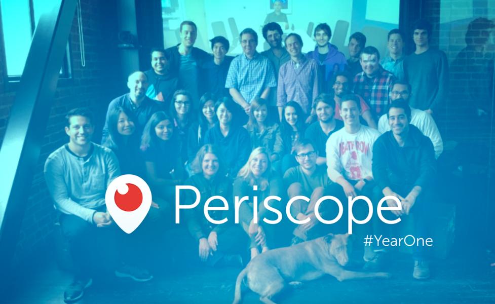 1 Tahun Periscope