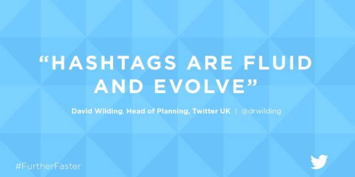 4. Hashtags are fluid and evolve