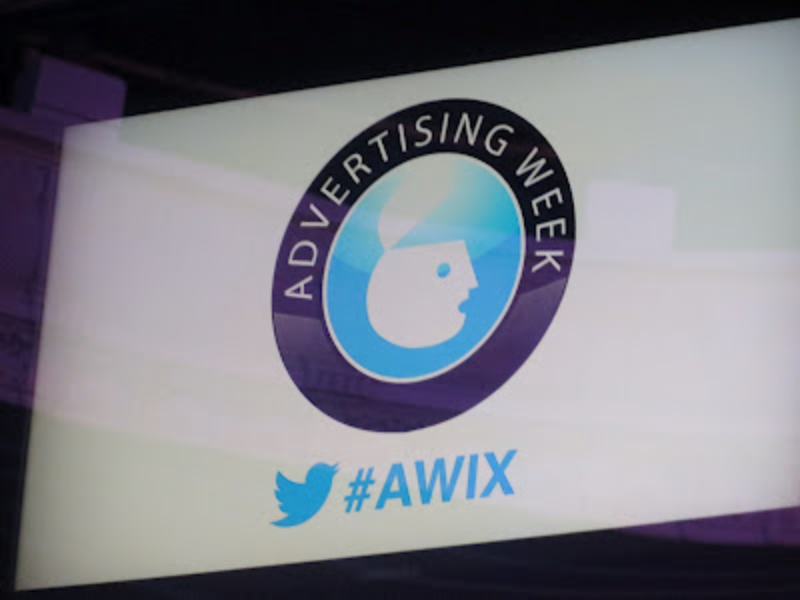 #AWIX Advertising Week Twitter