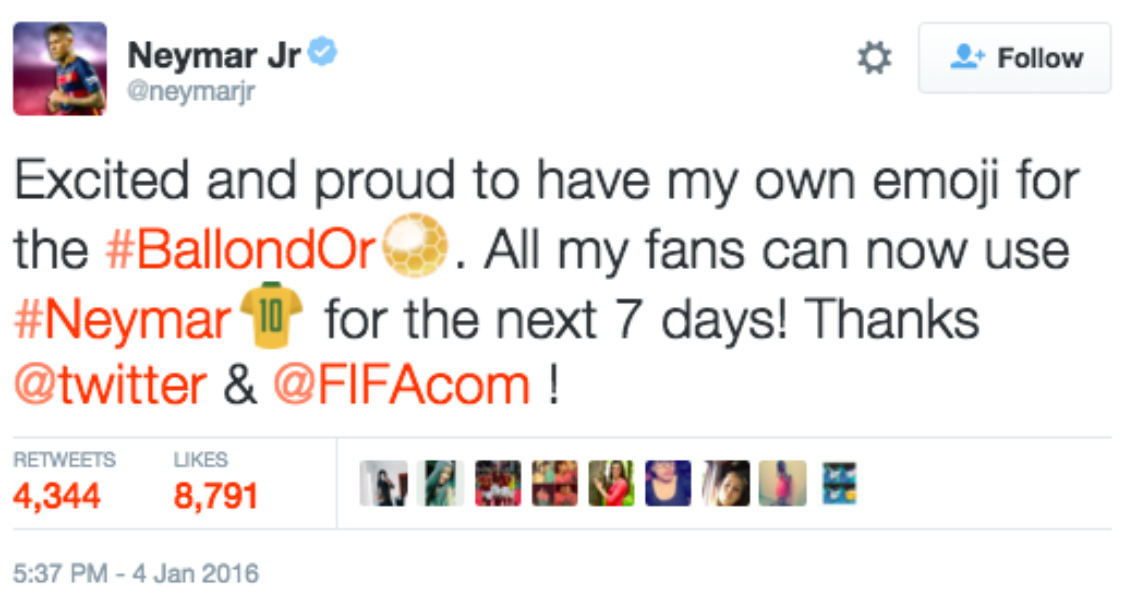#BallondOr 2015 on Twitter