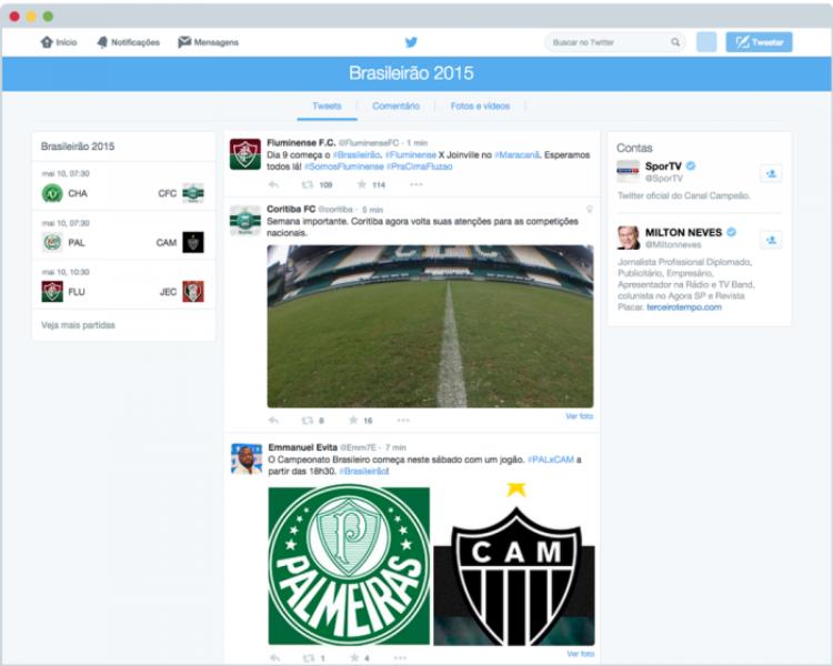 #Brasileirao: Torcer pelo seu time no Twitter ficou ainda melhor