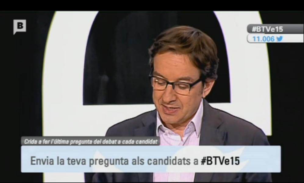 #BTVe15: el debate en Twitter llevado a la televisión