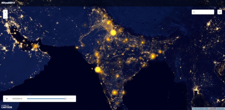 #Diwali celebrations on Twitter
