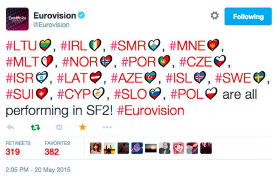 #Eurovision 2015
