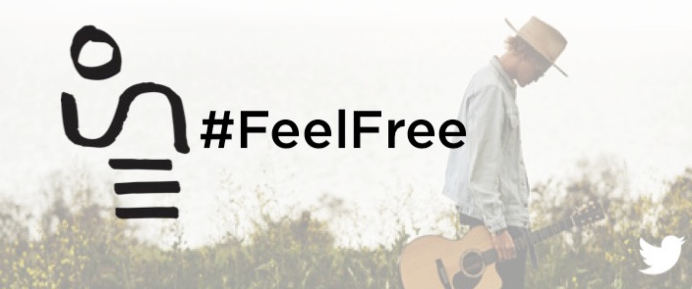 #FeelFree with a new @CodySimpson Twitter emoji and exclusive concert tickets