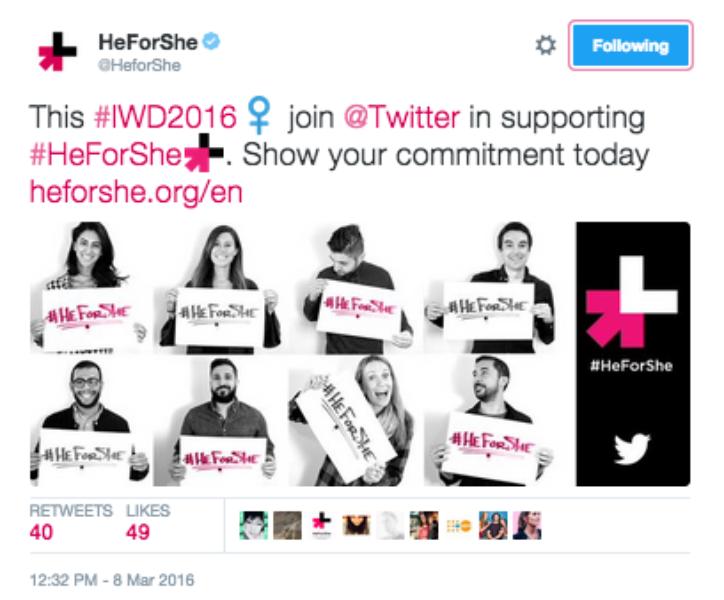 #HeForShe emoji