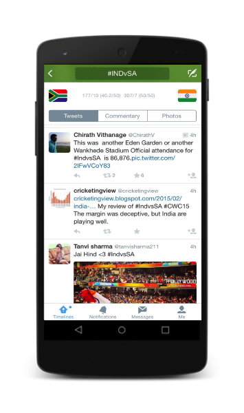 #INDvSA lights up Twitter as India creates history on the field