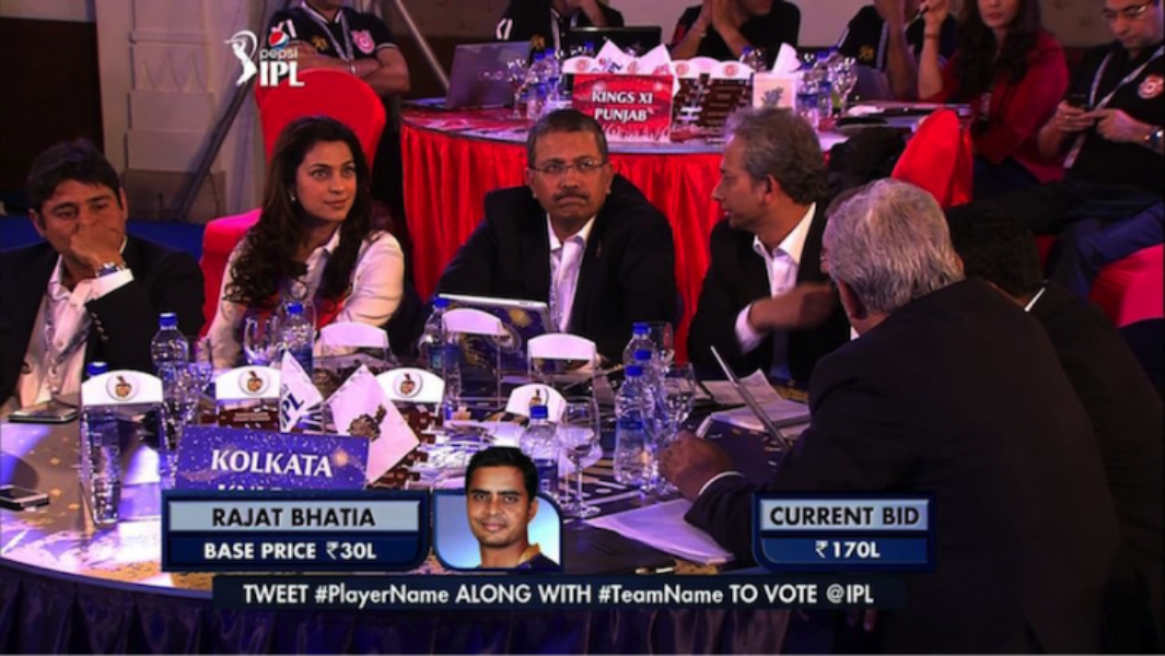 #IPLAuction 2014 comes alive on Twitter