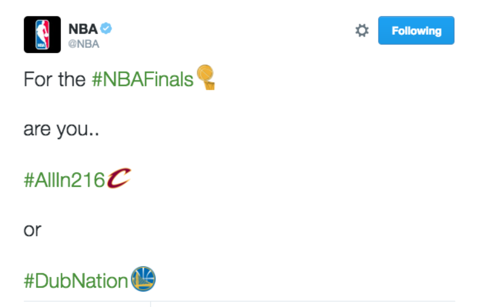 #NBAFinals: a trajetória dos @cavs rumo à vitória ao vivo no Twitter
