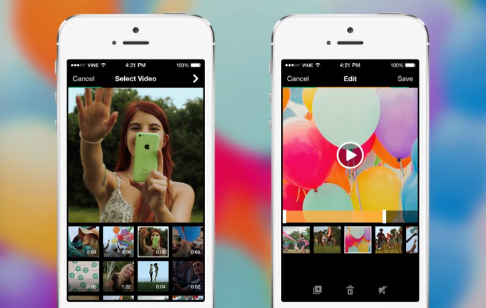 Nouvelle camera Vine: Filmez, importez, modifiez et partagez encore plus rapidement