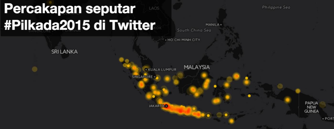 #Pilkada2015: Lebih dari Satu Juta Tweet untuk Pesta Demokrasi Indonesia