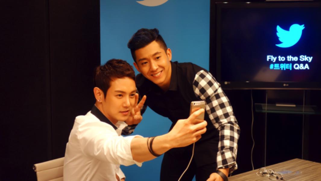 플라이 투 더 스카이, '트위터 Q&A'로 팬들과 만난 현장!