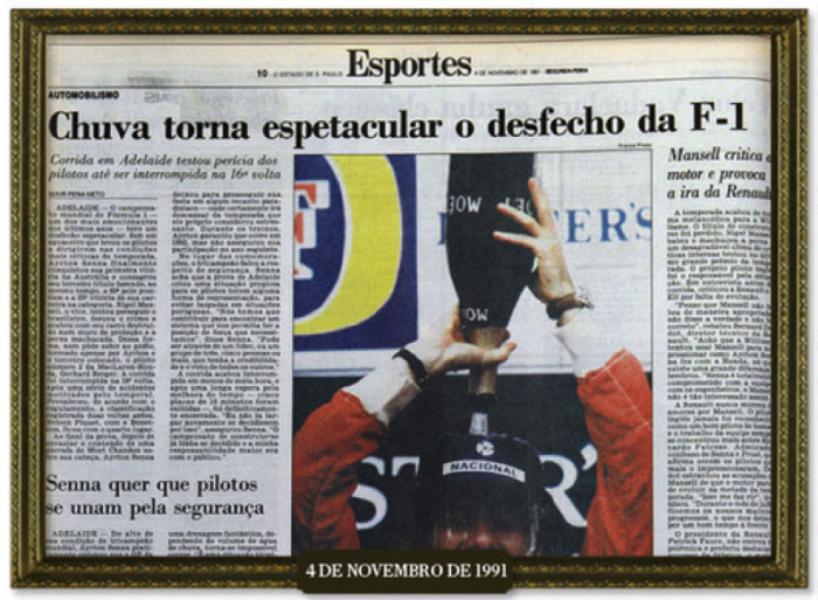 #Senna20: use a hashtag e receba conteúdo exclusivo do Estadão
