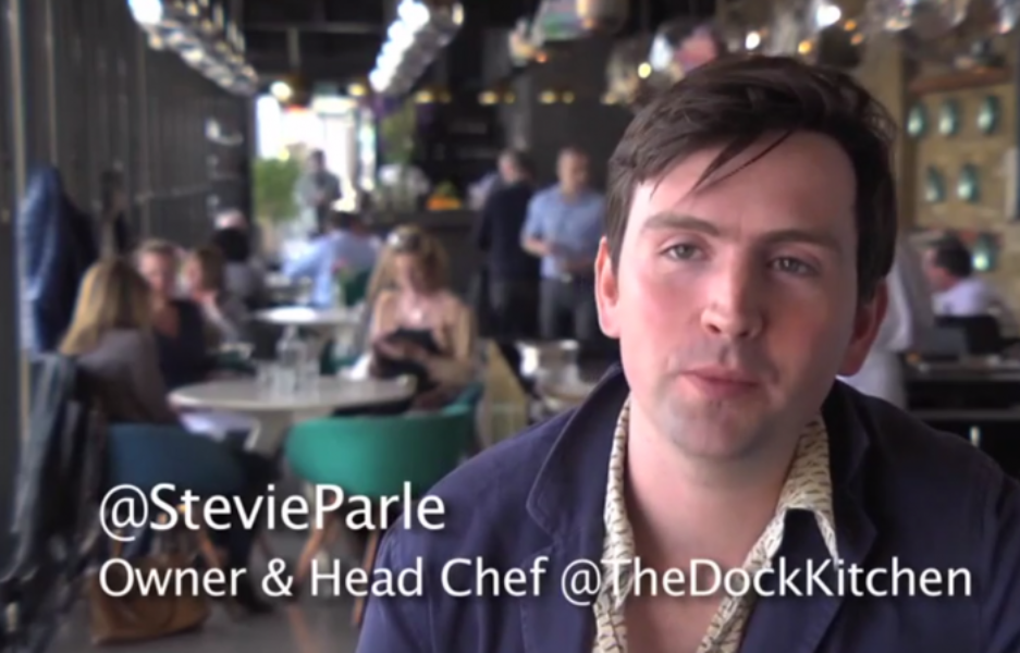 @StevieParle who of @TheDockKitchen on how he uses Twitter as a chef and writer