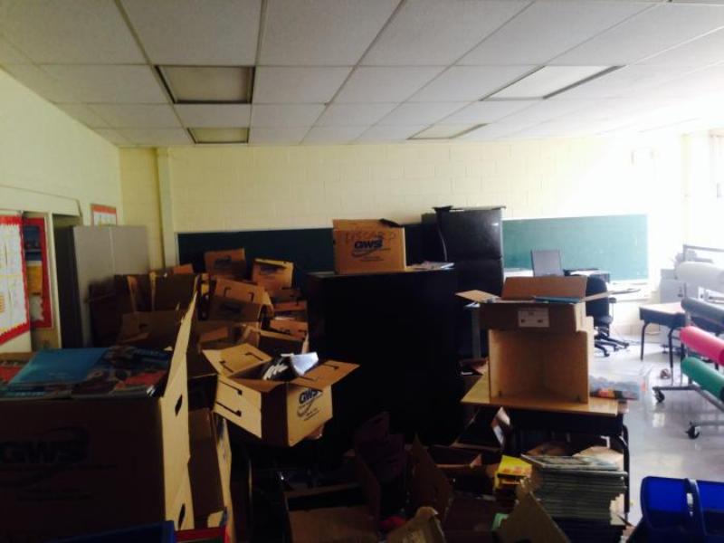 #ThursdayForGood: volunteering at Faraday Elementary School in Chicago