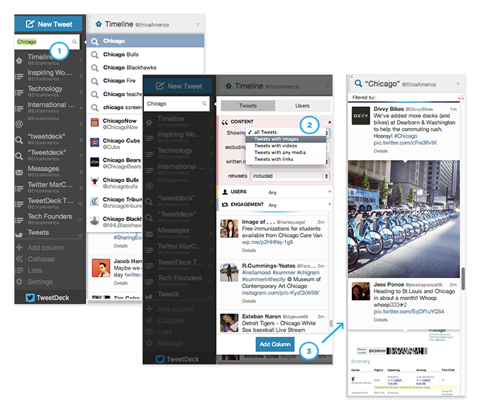 #TweetDeckTips: Content filters