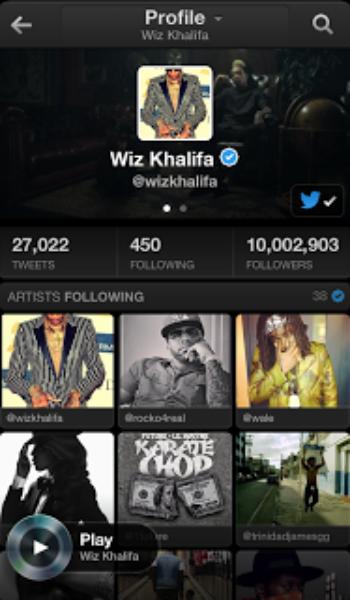 음악을 즐기는 새로운 방법, Twitter #music을 소개합니다