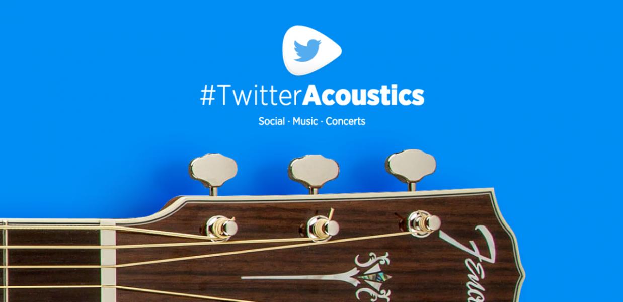 #TwitterAcoustics: los conciertos acústicos más sociales del planeta