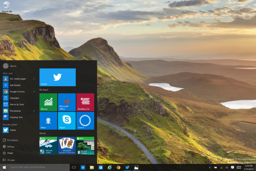 A whole new Twitter for Windows