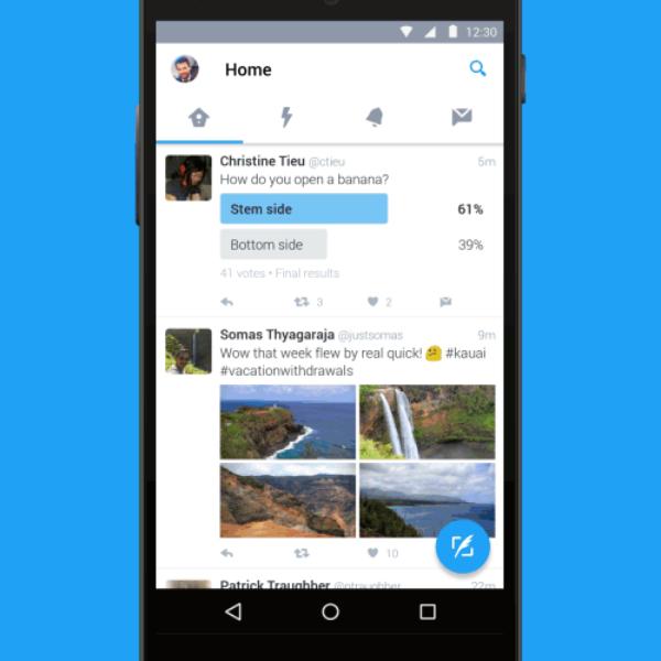 Actualizamos la aplicación de Twitter para Android