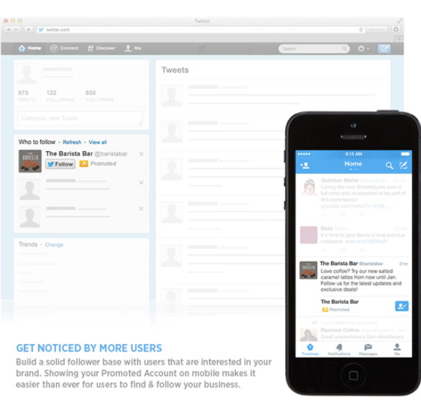 Announcing Promoted Accounts in Timeline