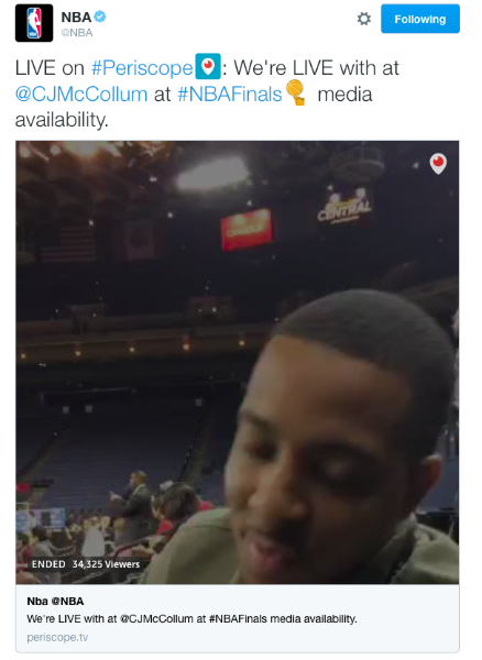 Así fue como los @cavs vencieron en la final de la #NBAFinals y en Twitter