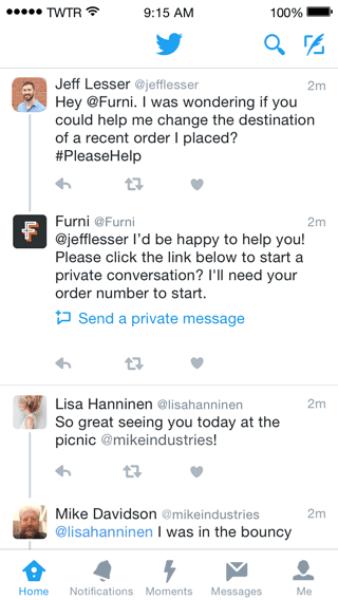 Atención al cliente, ahora aún mejor en Twitter