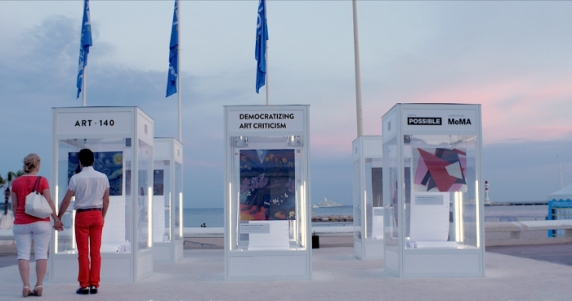 Beautiful art at #CannesLions: Day 4