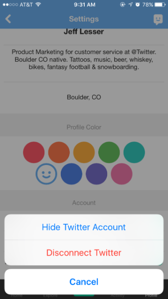 Best practices: Using Sign in with Twitter to link customer accounts