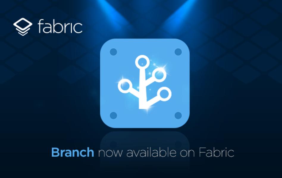 Branch está disponível no Fabric: impulsione seu app com deep linking