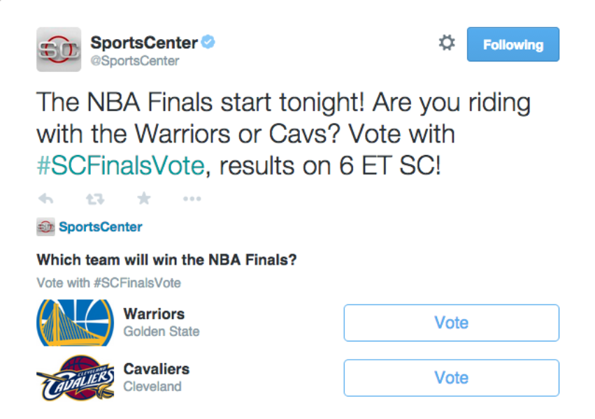 Bringing the #NBAFinals experience closer to hoops fans on Twitter