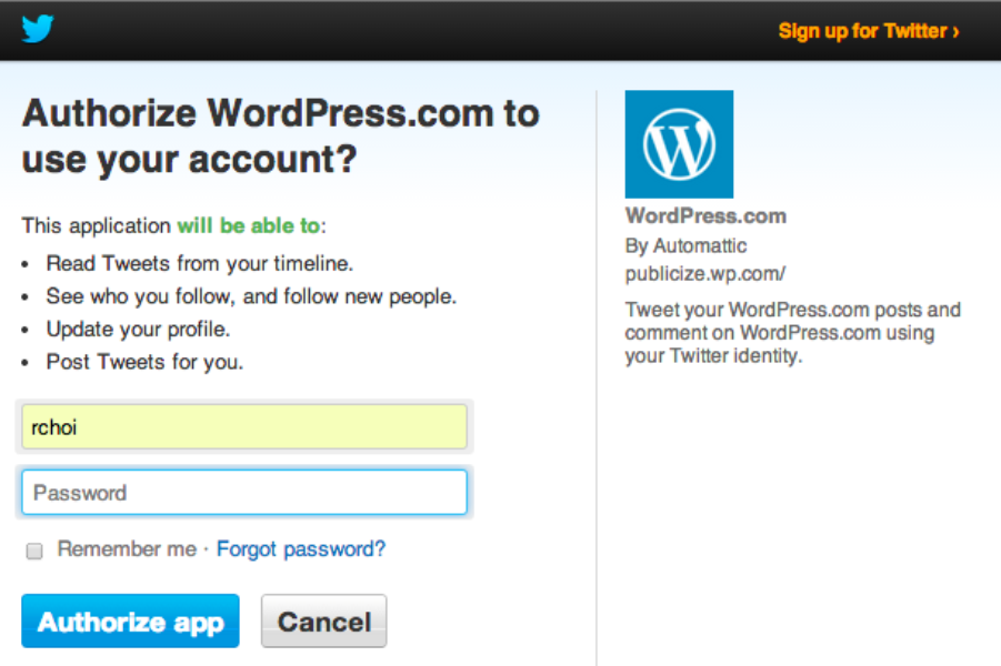 Broadcasting the voices of WordPress users, one Tweet at a time
