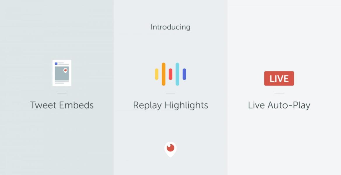 Cara Baru Menikmati Periscope: Highlights, Fitur Sematan Tweet, Live Auto-Play