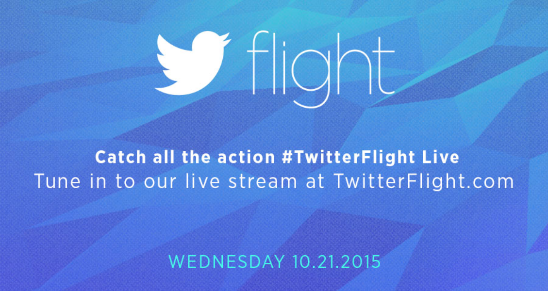 Catch the Twitter Flight live stream