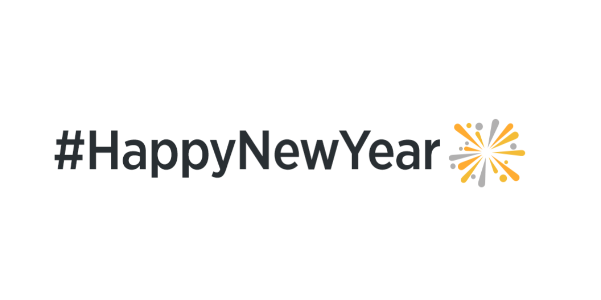 Celebrate #HappyNewYear on Twitter in India