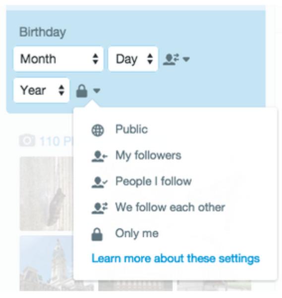 Célébrez votre anniversaire sur Twitter