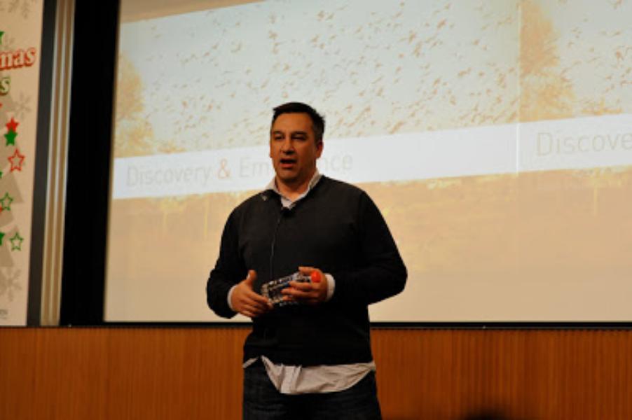 Chief ScientistのAbdurが東大で講演をしました