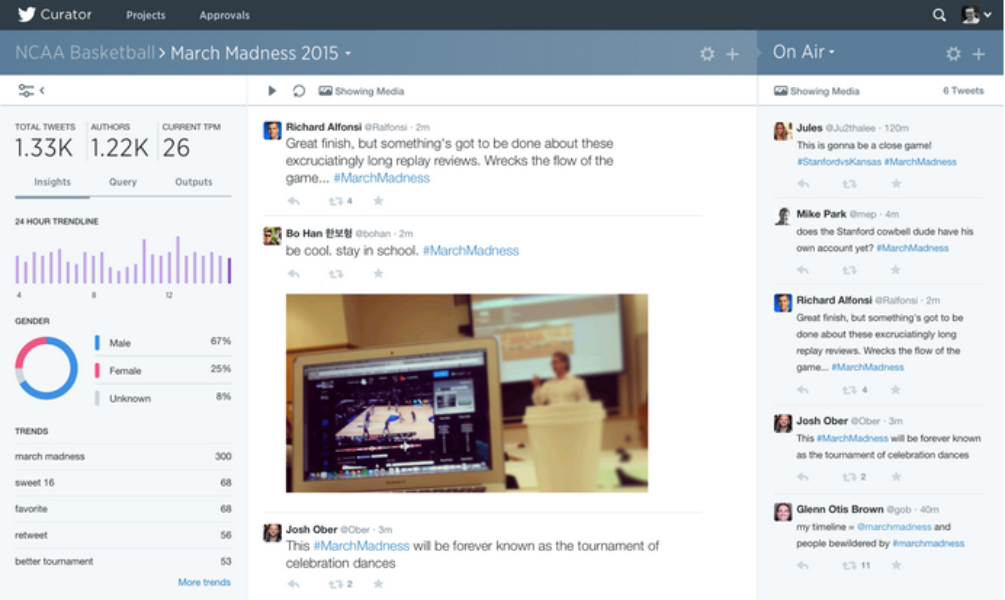 Curator : ツイートを見つけ出し活用するためのキュレーションツール