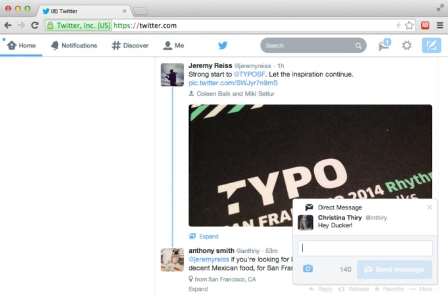 Entérate de toda la actividad con las nuevas notificaciones en twitter.com