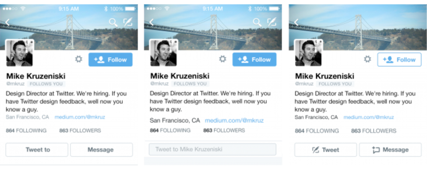 Explorations in adding relevant actions to the profile