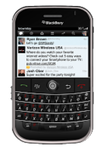 Extend your reach to BlackBerry and target across platforms