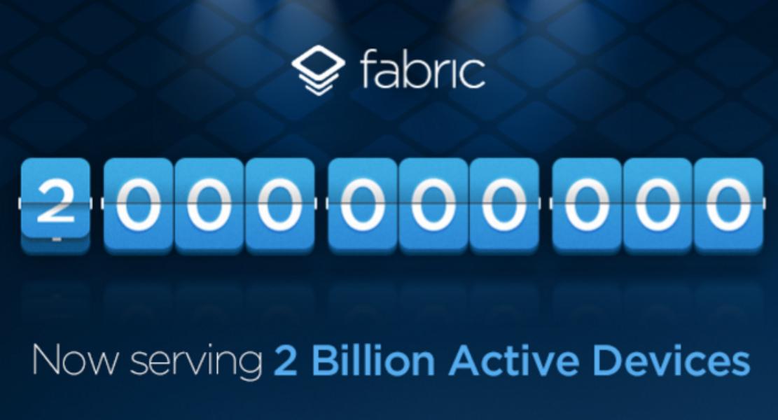 Fabricが20億台のアクティブなデバイスへのインストールを達成