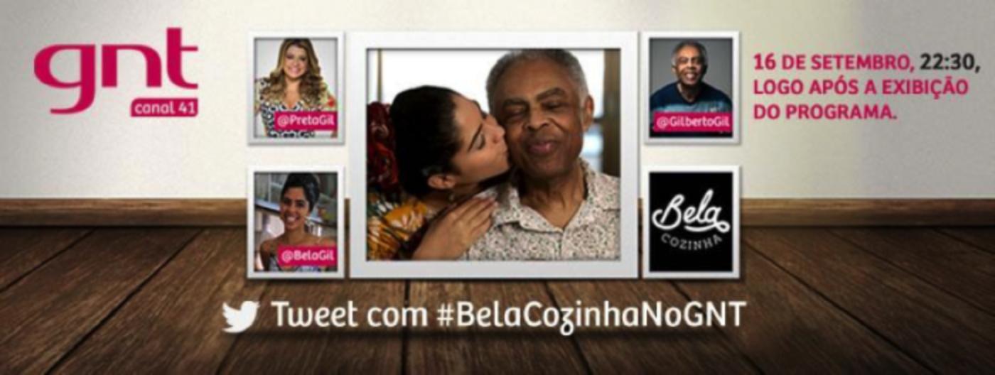 Família Gil se reúne no Twitter para bate-papo exclusivo sobre o melhor da cozinha