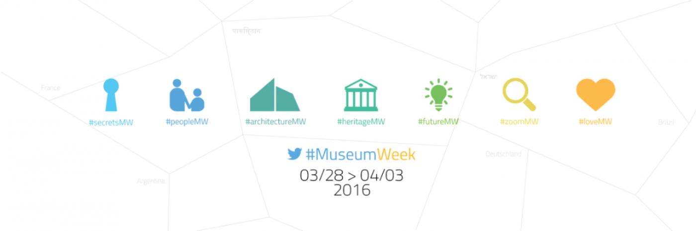 Fiesta de la cultura en Twitter: arranca #MuseumWeek 2016