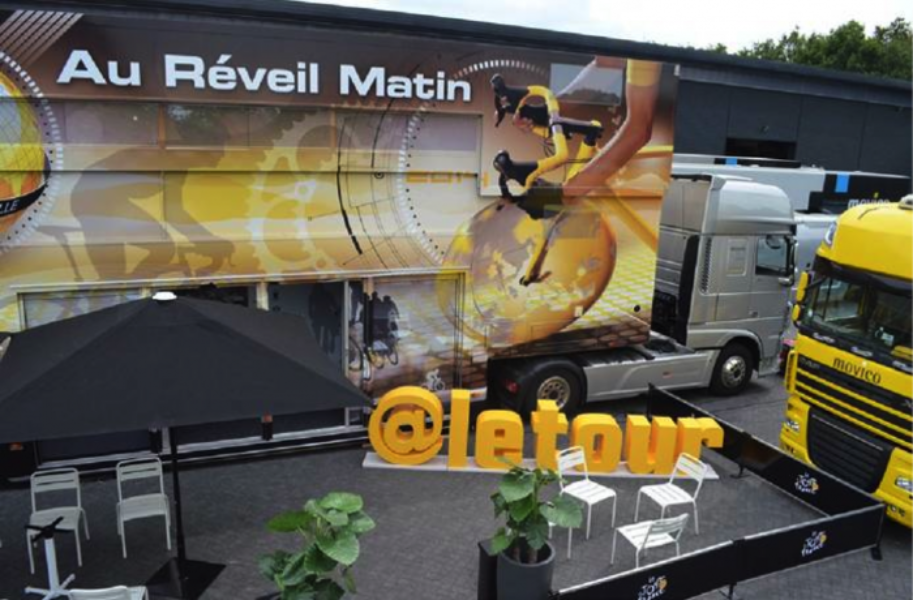 Follow the Tour de France on Twitter