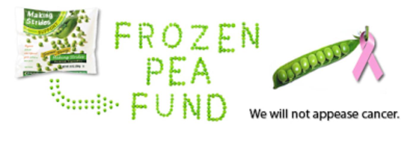 Frozen Pea Friday