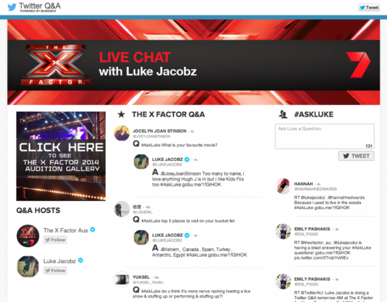 """Get a first look at """"The X Factor Auditions"""" on Twitter"""