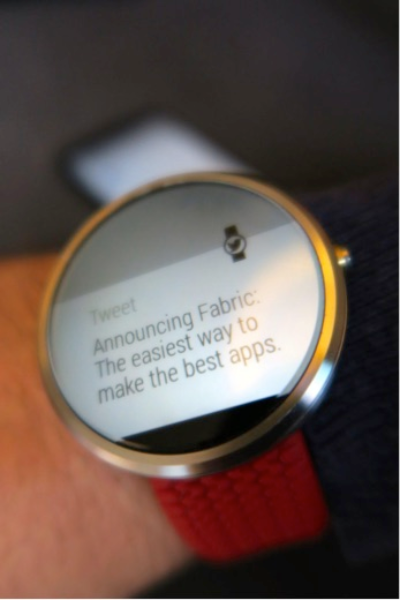 Getting started with Fabric and Android Wear
